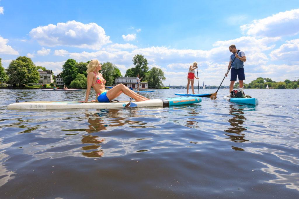 SUP Verleih Hamburg – Mieke Tasch - SUP Tour Hamburg - SUP Coach - Fitness - Ernährung - Lifestyle